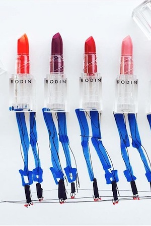 Lipstick artwork by Donald Robertson