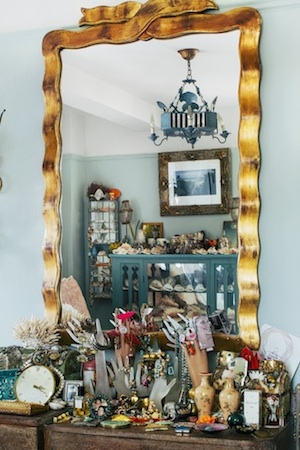 A lover of trinkets, her vanity is an eclectic curation of her favourite accessories - for home and her hands.