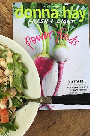 My go-to recipe book for fresh, easy and healthy meals, Donna Hay's Fresh + Light Power Foods