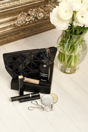 Monochromatic beauty essentials...