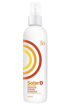 SolarD Daily Use SPF50 Sunscreen, $20