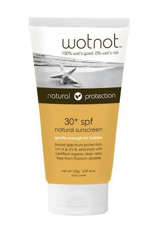 WOTNOT 30+ SPF Sunscreen, $20