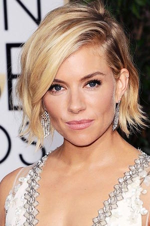sienna rocks her shorter do with total precision