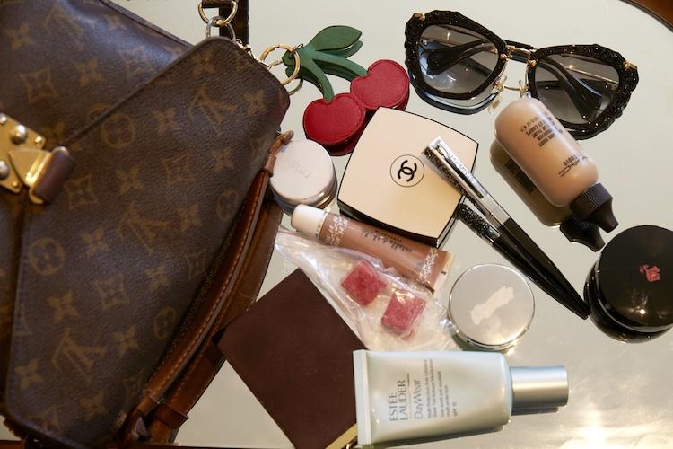 A very enviable handbag spill...