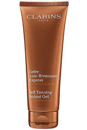 Clarins Self Tanning Instant Gel, $40