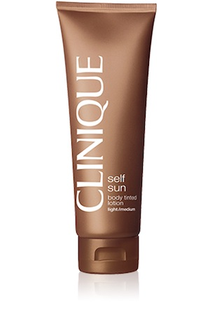 Clinique Self Sun Body Tinted Lotion, $39