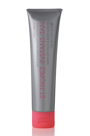 St Tropez Instant Tan Wash Off Face and Body Lotion, $20