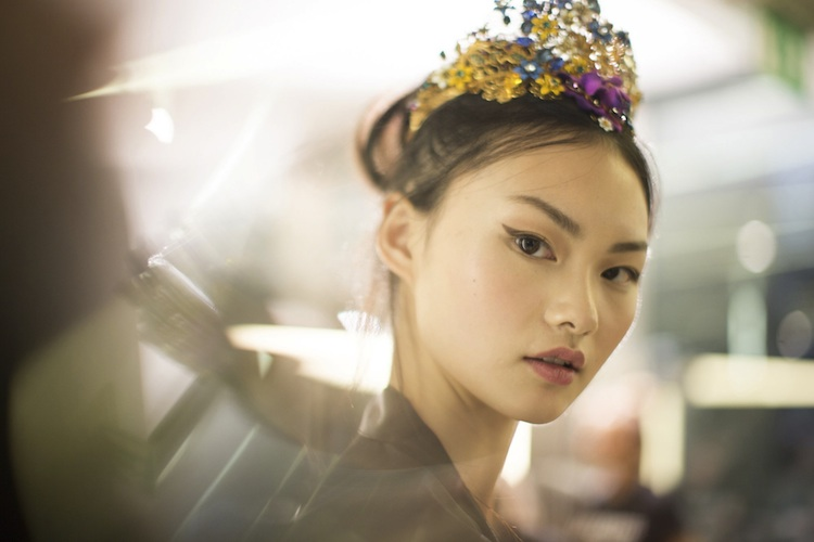 Beauticate Loves this image by Kevin Tachman for Backstage Dolce and Gabbana