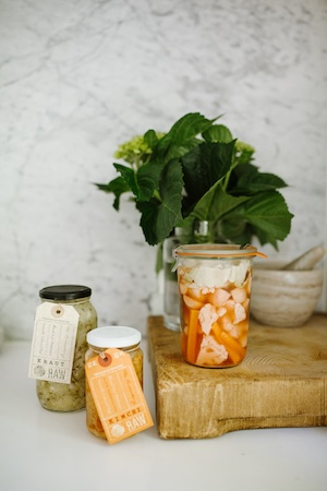Beauty math: Fermented foods = great gut health.Gut health = great skin.