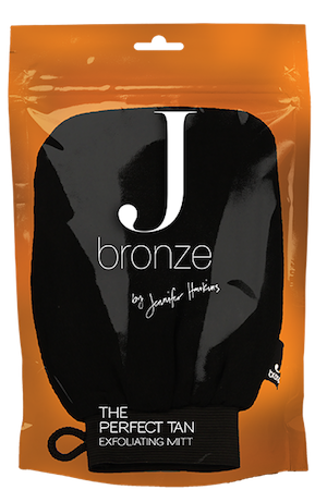 J Bronze The Perfect Tan Exfoliating Mitt