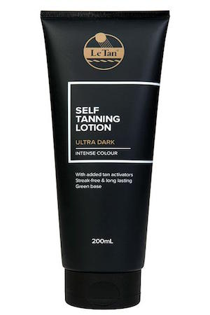 Le Tan Self Tanning Lotion Ultra Dark