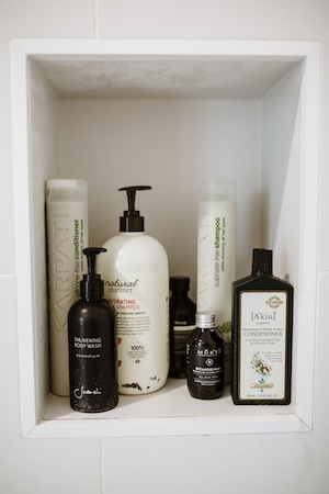 A beautiful array of botanical haircare.