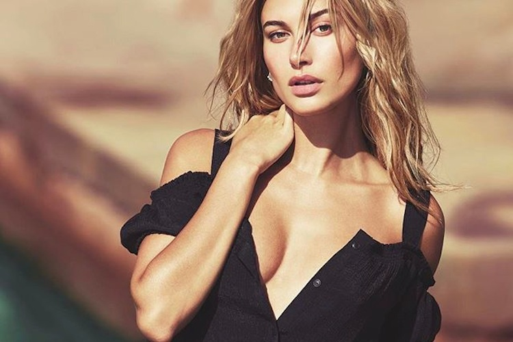Hailey for Guess, shot by David Bellemere