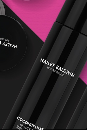 Hailey Baldwin For ModelCo Products