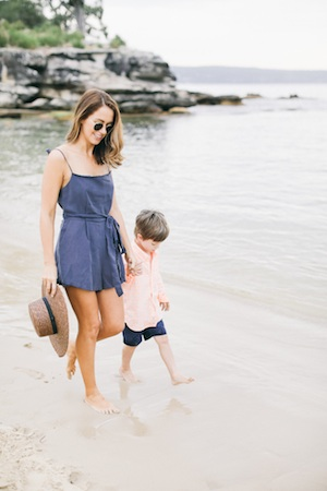 Bec and Bridge Playsuit; Max wears Country Road shirt and Cotton On Shorts