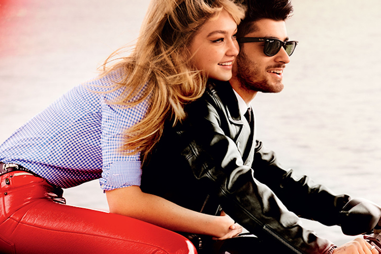 Beauticate loves this image of Gigi and Zayn for Vogue