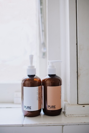 PURE Hair Food appeals to Nicole's sense of simplicity in beauty