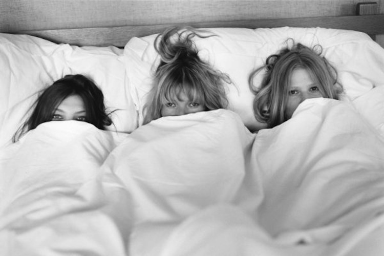 Beauticate loves this image of Daria Werbowy, Kate Moss and Lara Stone by Bruce Weber