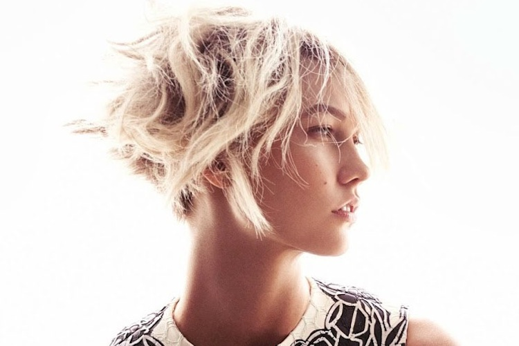 Beauticate loves this shot of Karlie Kloss by Mikael Jansson
