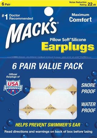 Mack's Silicone Earplugs