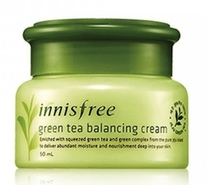 Innisfree's Green Tea Balancing Cream