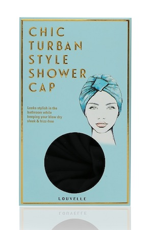 Louvelle shower caps