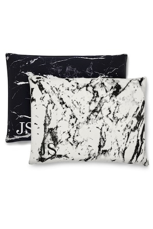 Shhh Silk Marble Silk Pillow Cases