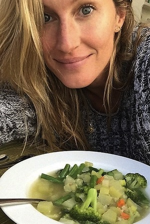 If it's good enough for Gisele... Image: Instagram @gisele