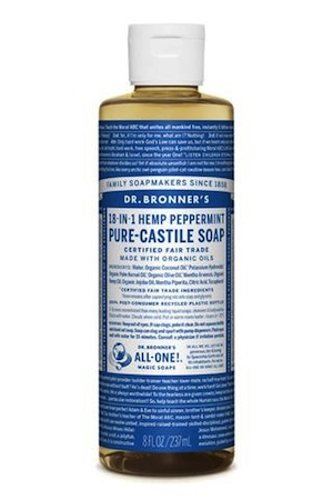 Dr Bronner's Castile Soap