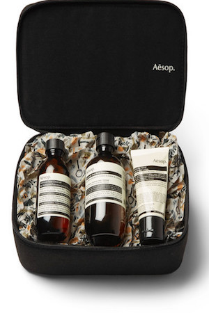 The Intrepid Gent gift set by Aesop
