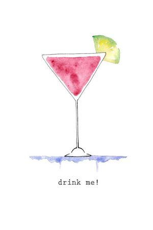 Some cocktails are better than others... Image via Pinterest