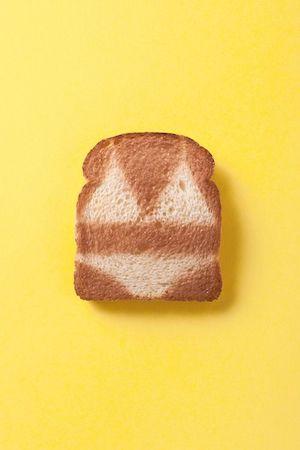 No one likes burnt toast. Image via Pinterest.