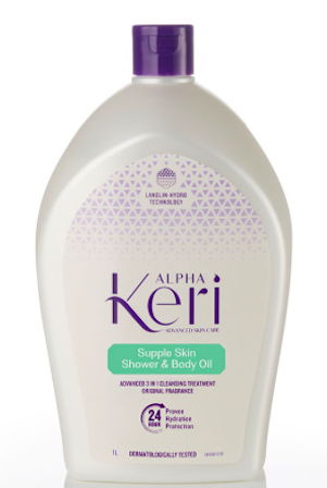 Alpha Keri Shower and Body Oil