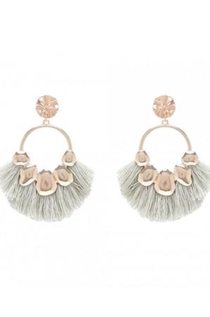 Tamarra Tassel Fringe Earrings