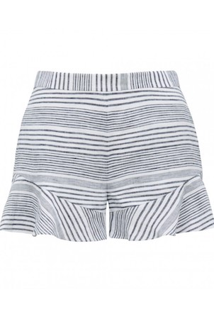 Trinity Stripe Co-Ord Linen Shorts