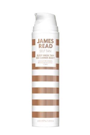 james read self tan sleep mask tan go darker body