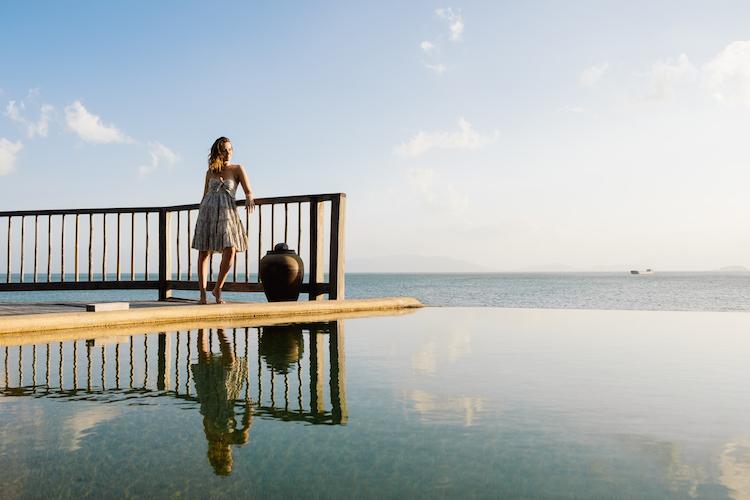 Oceanfront villas at Six Senses