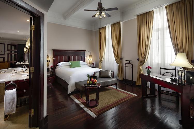 Elegant rooms at Hanoi's oldest hotel