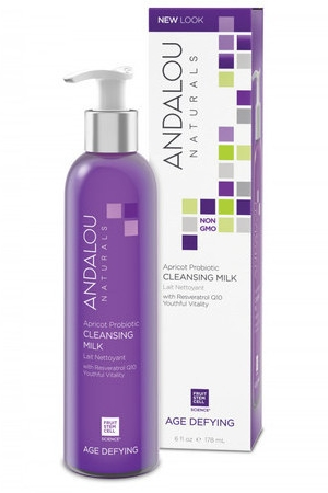 Andalou Apricot Probiotic Cleansing Milk