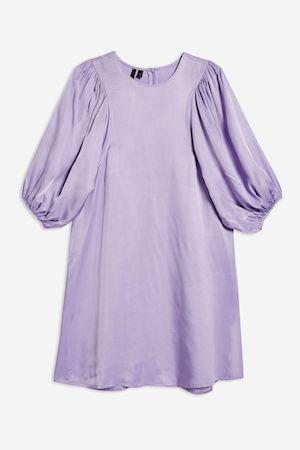 Topshop Boutique Balloon Sleeve Dress