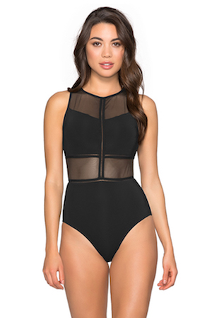 Jets High Neck One Piece