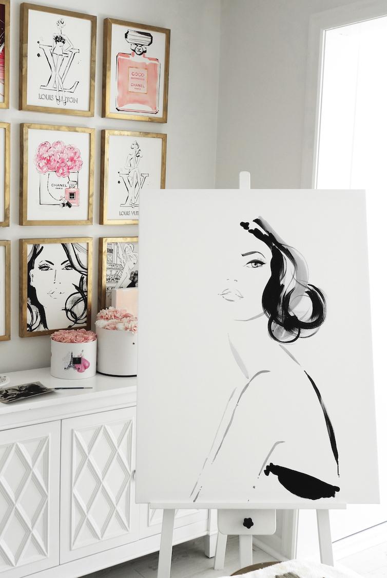 Kerrie Hess, Artist