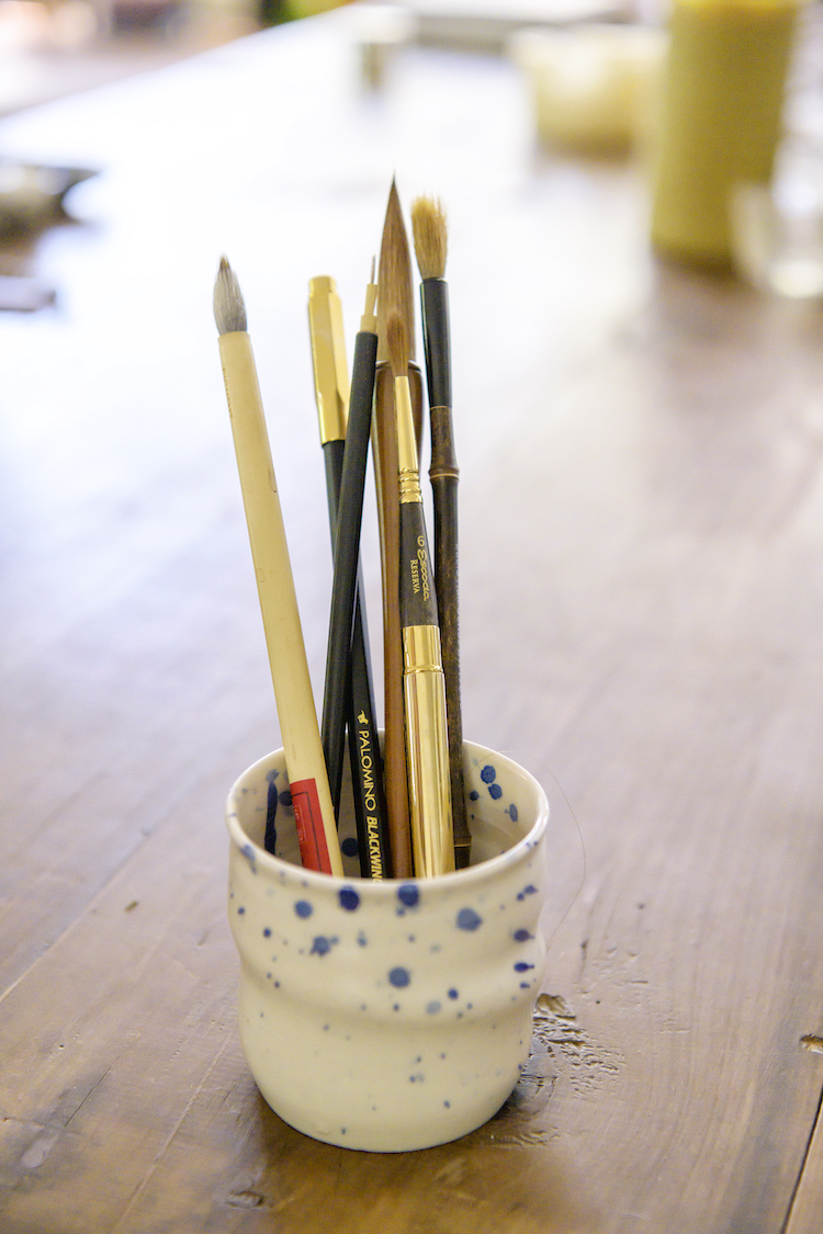 """""""I use these brushes for painting. I absolutely love it and make sure to always travel with them too""""."""