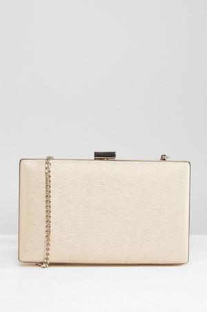 Dune Shimmer Clutch Bag