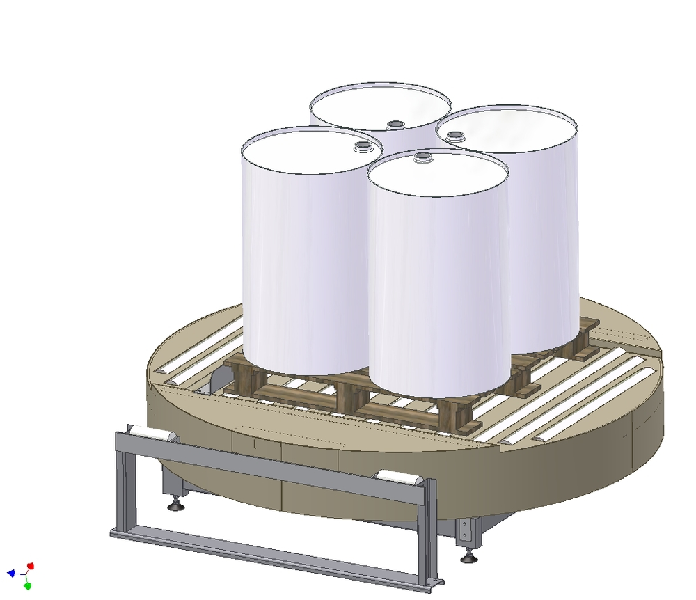 Design of turnable conveyor