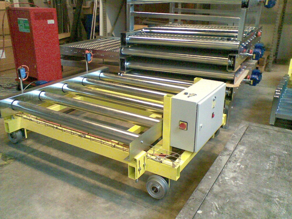 Direct drive aside of conveyor frame