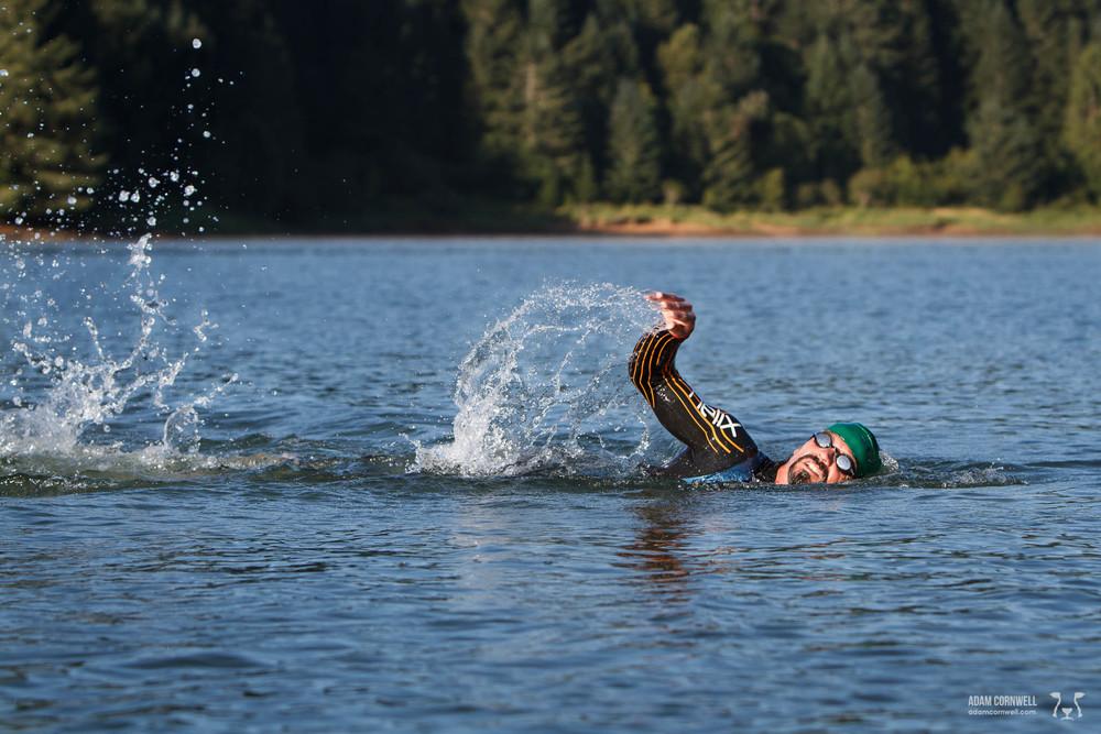 2014 Double Anvil  Hagg Lake, OR   usaultratri.com