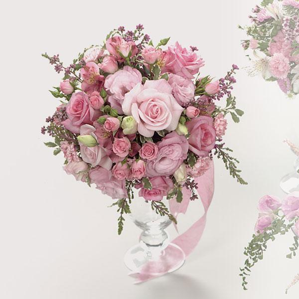 Pink Rose Bouquet Haddonfield Floral