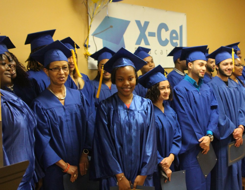 X-Cel Education's free high school equivalency and college prep classes, college guidance, and career programs help hundreds of low-income Bostonians each year attain an education and better jobs to support their families.