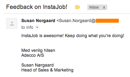 Thanks for writing Susan, cant wait to see your InstaJobs!